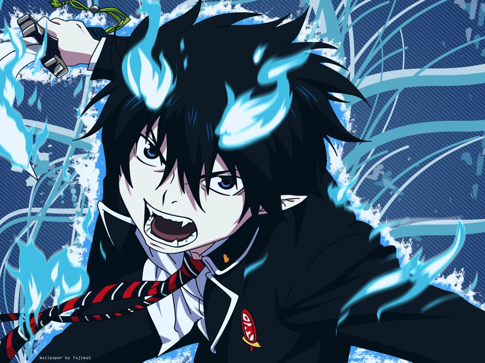 blue exorcist rin okumura - photo #15