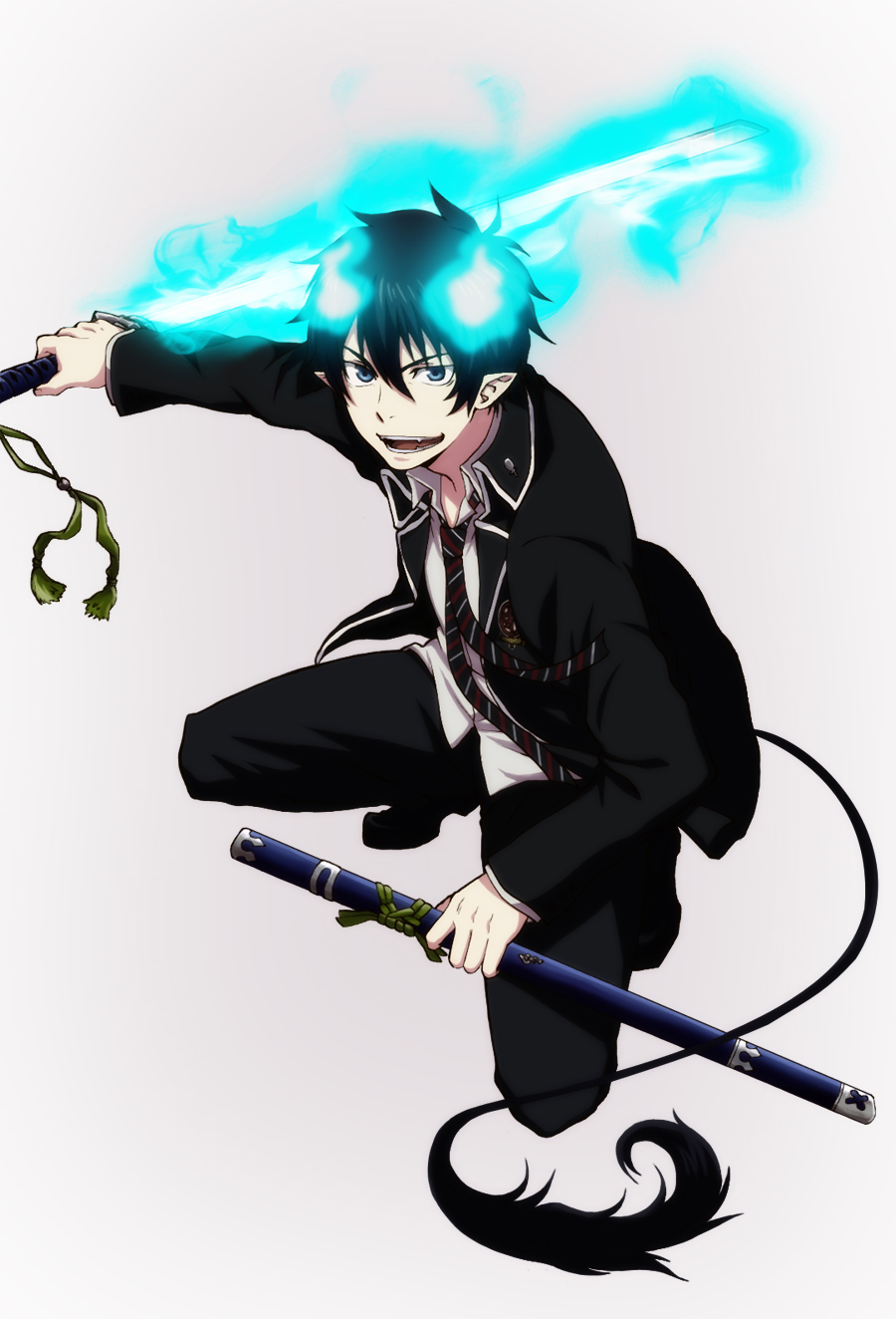 blue exorcist rin okumura - photo #4