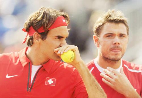 Roger & Wawrinka - Davis Cup