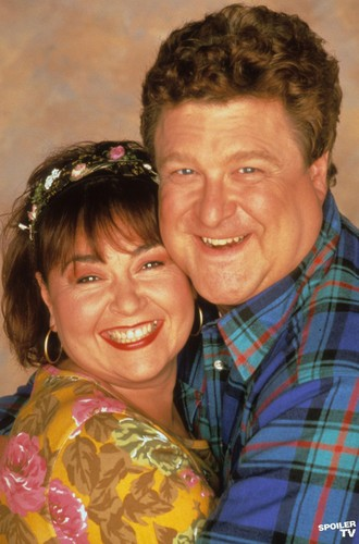 Roseanne achtergrond possibly with a green beret, baret called Roseanne & Dan