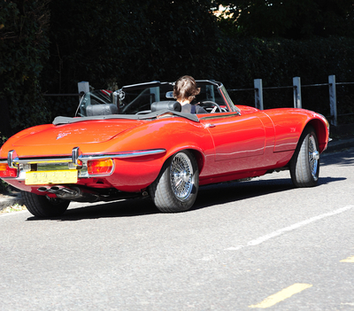 SEP 13TH - HARRY TEST DRIVING SPORTS CARS