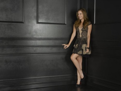 Revenge wallpaper probably with tights, a leotard, and a playsuit entitled Season 2 - Cast - (NEW) Promotional Photo - Christa B. Allen