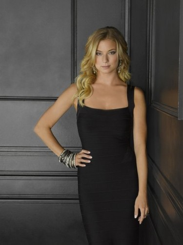 Revenge wallpaper possibly with a cocktail dress titled Season 2 - Cast - (NEW) Promotional Photo - Emily VanCamp