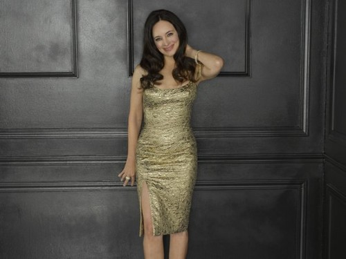 Revenge wallpaper possibly with a cocktail dress called Season 2 - Cast - (NEW) Promotional Photo - Madeleine Stowe