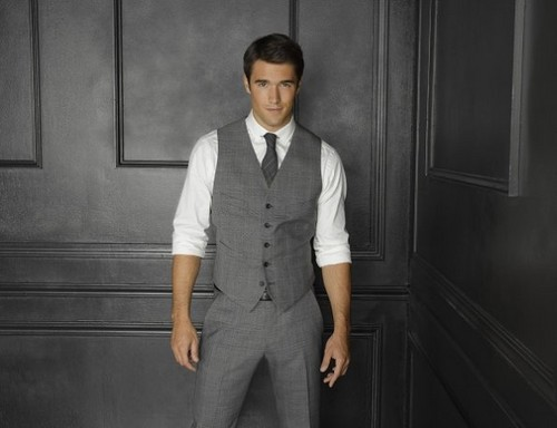 Revenge wallpaper with a business suit, a well dressed person, and a suit entitled Season 2 - Cast - Promotional Photo - Joshua Bowman