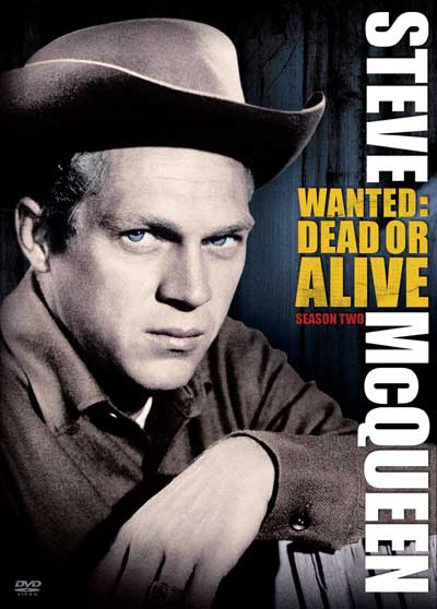 Steve McQueen Season 2 of Wanted: Dead Or Alive