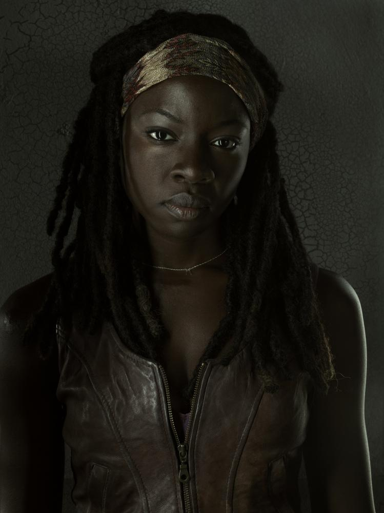 The walking dead michonne season 3 cast portrait