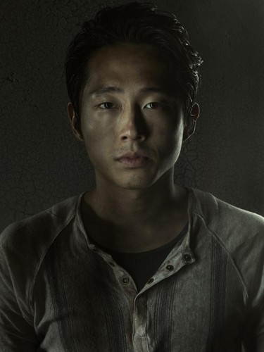 The Walking Dead Hintergrund entitled Glenn- Season 3 - Cast Portrait