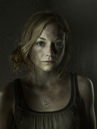 The Walking Dead wallpaper probably with a portrait called Beth Greene- Season 3 - Cast Portrait