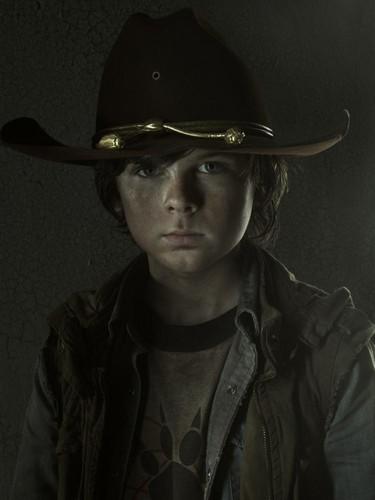 Carl Grimes- Season 3 - Cast Portrait