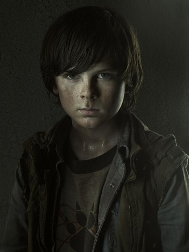 Carl Grimes- Season 3 - Cast Portrait