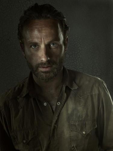 Rick Grimes- Season 3 - Cast Portrait