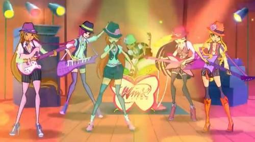 Season 5 Sceencap: The Winx Band!