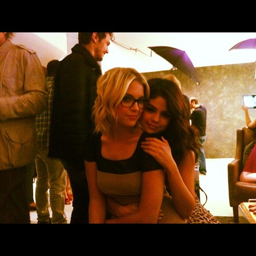 Selena Gomez and Ashley Benson