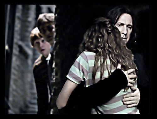 Severus Snape Hintergrund probably containing a konzert called Severus Snape & Hermione Granger