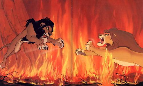 Simba vs Scar