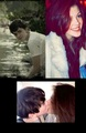 Skandar Keynes and Georgie Henley kissing??