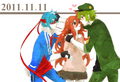 Splendid x Flaky x Flippy - happy-tree-friends photo