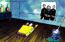 SpongeBob likes Green Day