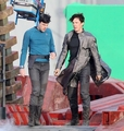 Star Trek sequel - Shooting - zachary-quintos-spock photo
