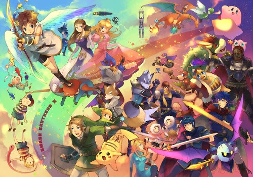 Super Smash Bros. Brawl tagahanga art