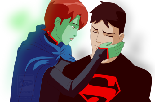 Young Justice images SuperMartian: Please don't leave me ...
