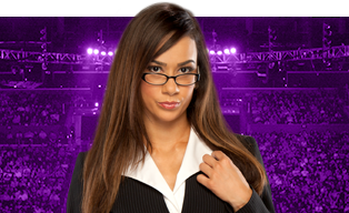 AJ Lee wallpaper containing a portrait entitled Superstar Spotlight