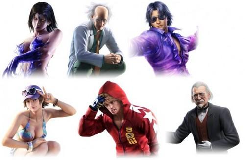 TTT2 New DLC characters CG