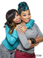 Tameka & Zonnique - ti-and-tiny-the-family-hustle photo