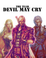 Team DMC - devil-may-cry fan art