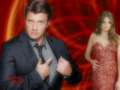 ...you lookin' at my girl? - castle-and-beckett wallpaper