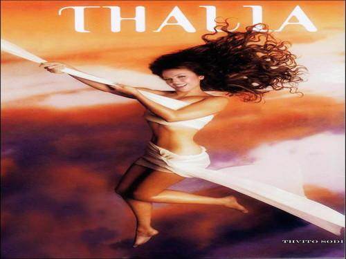 Thalia wallpaper containing skin titled Thalia