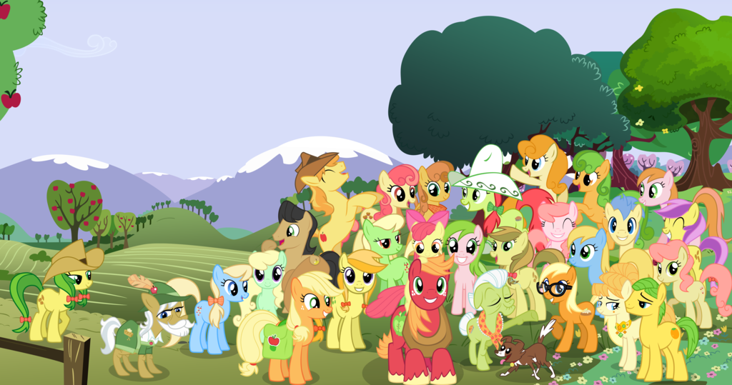 My little pony friendship is magic family tree - photo#16