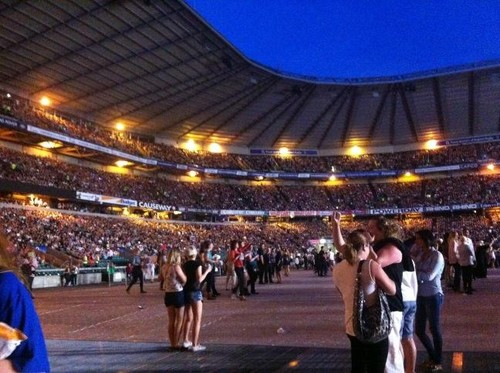 The Born This Way Ball Tour at Twickenham Stadium - lady-gaga Photo
