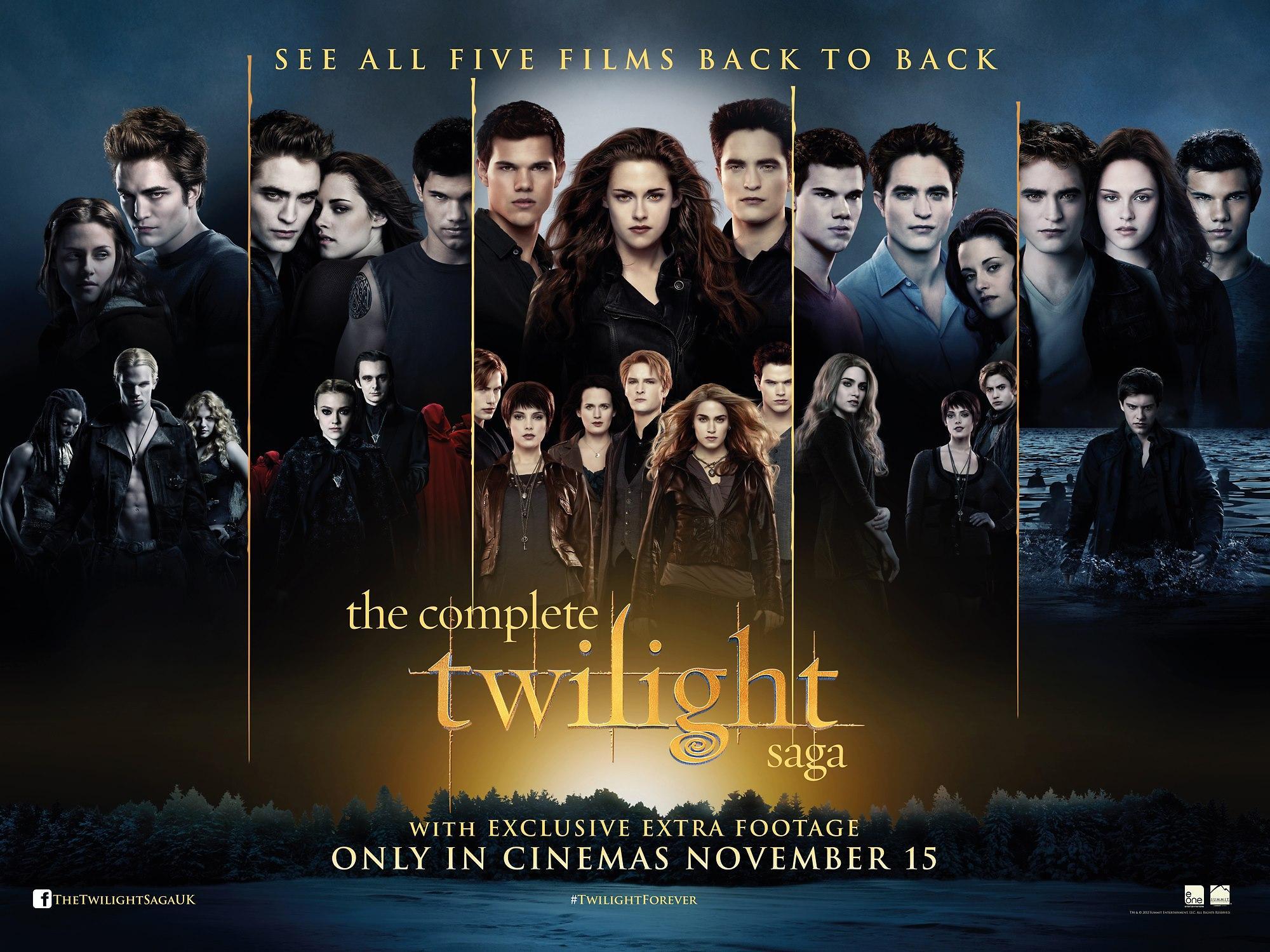 The Complete Twilight Saga