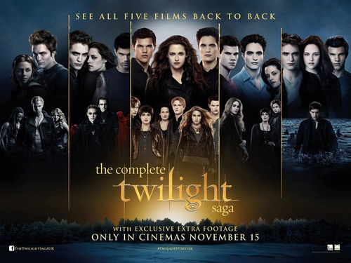 The Complete Twilight Saga