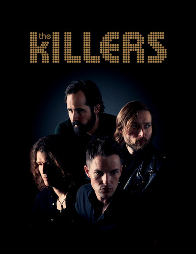 The Killers Europe 2012 Tour Poster