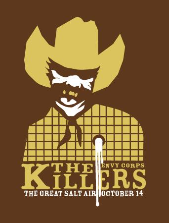 The Killers kalesa poster