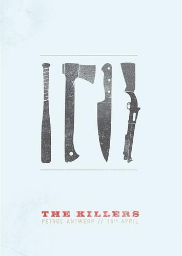 The Killers concierto poster