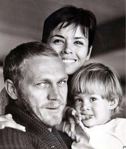 Steve McQueen wallpaper probably containing a neonate and a portrait called The McQueen Family
