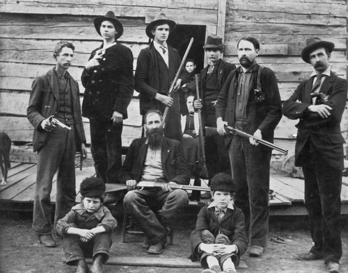 The Men of THe Hatfield Family  - hatfields-and-mccoys Photo