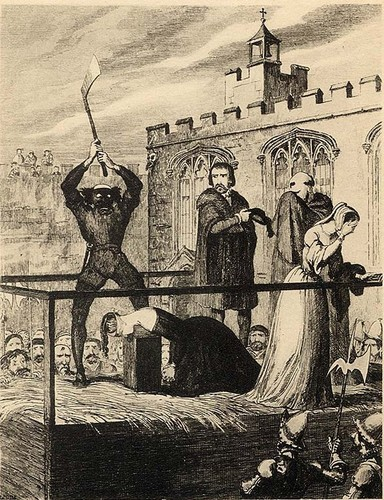 The execution of Katherine Howard