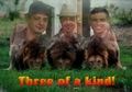Three of a kind!