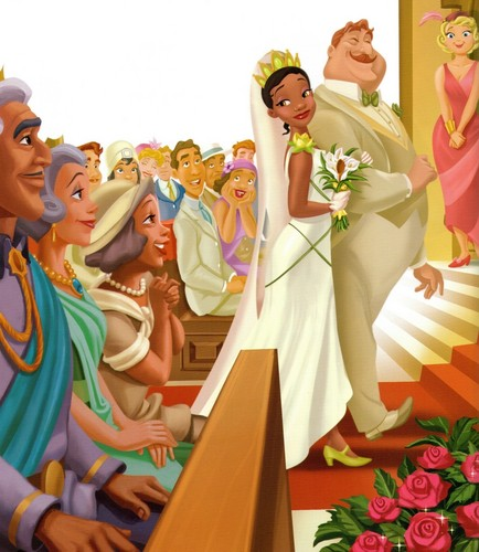 """Tiana and """"Big Daddy"""" Le Bouff"""