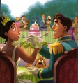 Tiana and Naveen - the-princess-and-the-frog photo