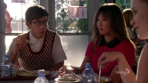 Tina and Artie 4x01