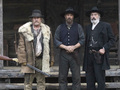 Tom Berenger, Kevin Costner and Powers Boothe - hatfields-and-mccoys photo