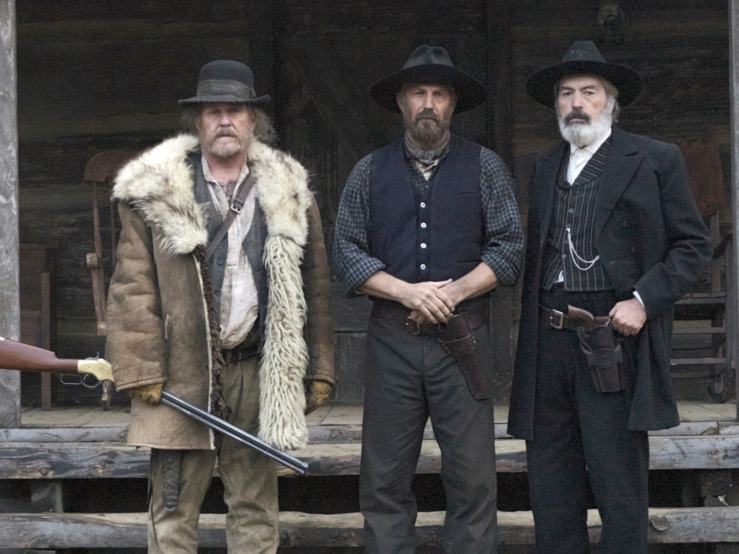 hatfield and mccoy Kevin costner and bill paxton star in this all-new three-part miniseries about the legendary and deadly family feud that broke out in the backwoods of west.