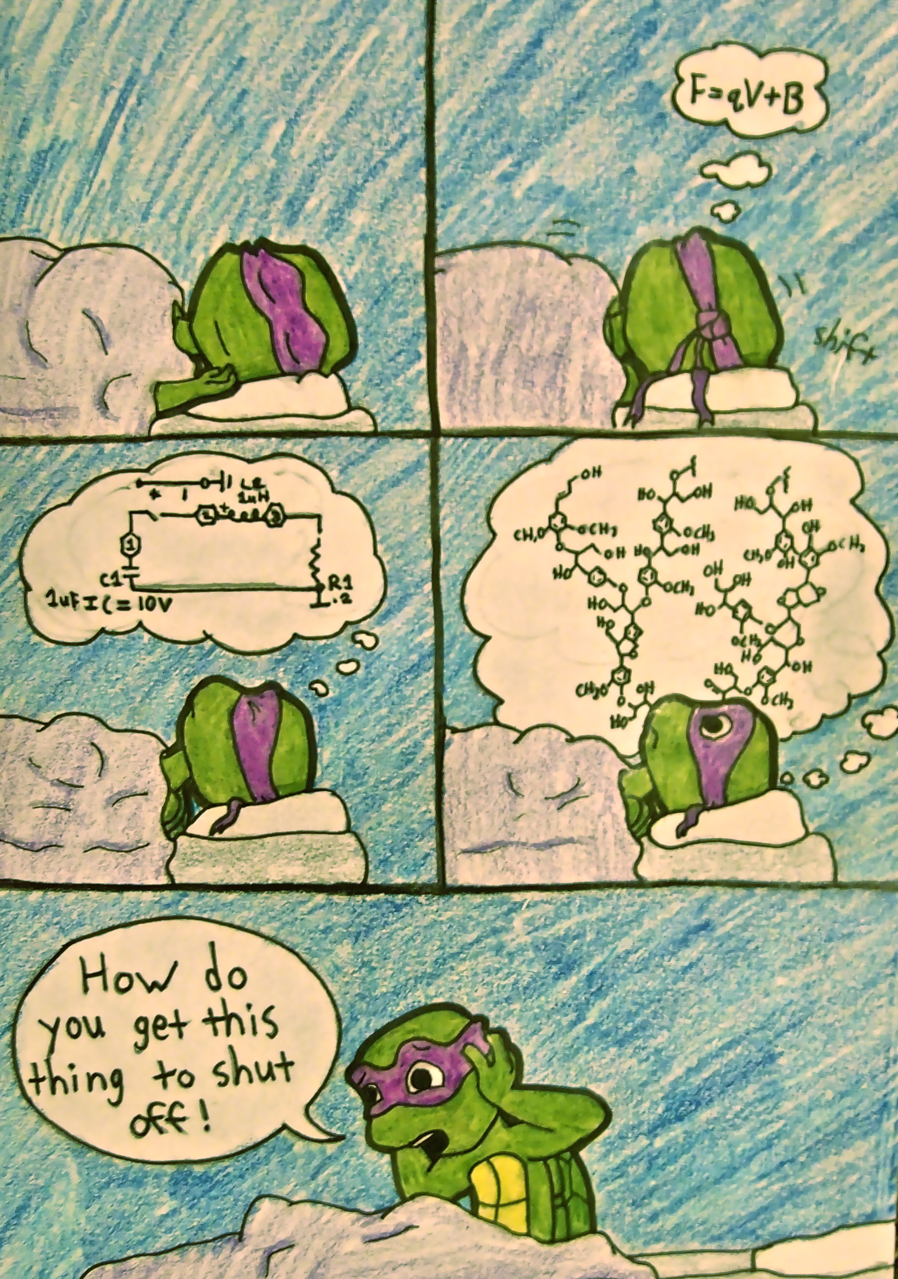 Donatello Splinter images Too Much Brain Power HD ...