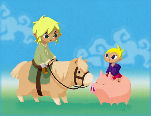 Toon Link's family